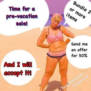 Pre-vacation super sale!